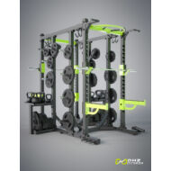 DHZ® CROSSTRAINING DOUBLE RACK POWERRACK- crosstraining keret