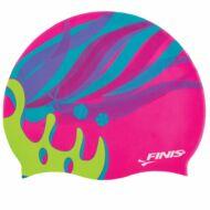 FINIS MERMAID SILICONE CAP színes gyerek úszósapka (KORONÁS)