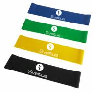 SVELTUS® AEROBIC LATEX BANDS SET latex gumihurok