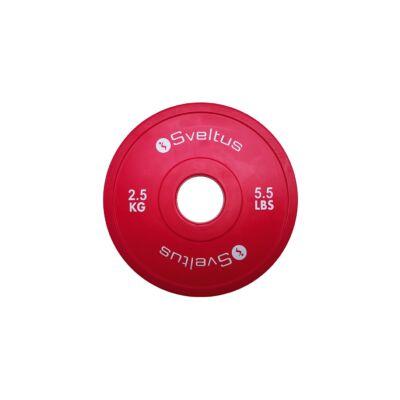 SVELTUS MINI OLYMPIC DISQUE - MINI OLIMPIAI TÁRCSA 2,5 kg
