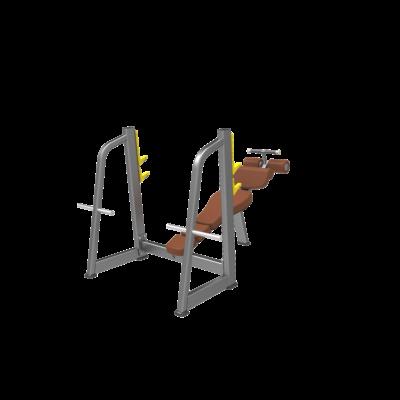 DHZ OLYMPIC BENCH DECLINE- olimpiai negatív fekvenyomó pad
