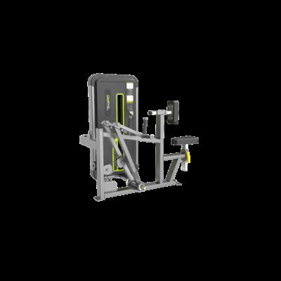 DHZ® VERTICAL ROW- hátizom erősítő gép