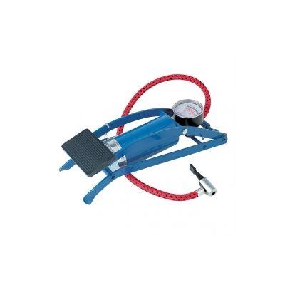 Láb pumpa nyomásmérővel