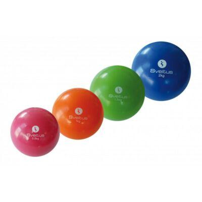 SVELTUS WEIGHTED BALL súlylabda - PINK (0,5KG)