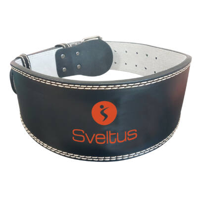 SVELTUS® LEATHER WEIGHTED BELT