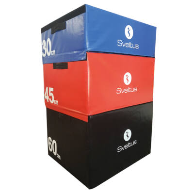SVELTUS® FOAM PLYOBOX SET 30/45/60 CM HABSZIVACS PLYOBOX SZETT