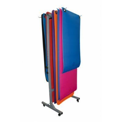 SVELTUS® MATS TROLLEY gurulós fitnesz matrac állvány