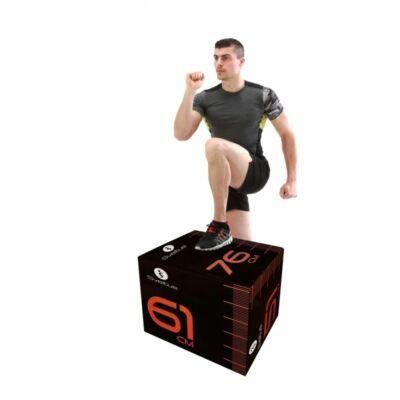 SVELTUS® SOFT PLYOBOX 3 IN 1 állítható magasságú puha plyobox